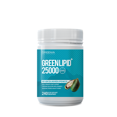 GREEN MUSSEL 25000 '100% PURE LIVE MUSSEL POWDER'
