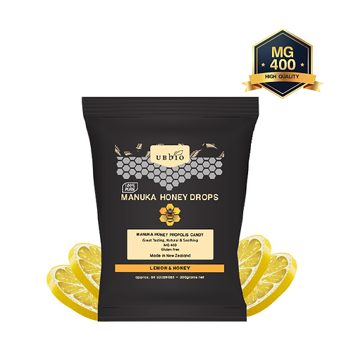 [UBBIO] MANUKA HONEY LOZENGES-  LEMON