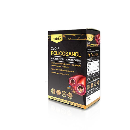 [UBBIO] Polycosanol + CoQ10  30粒 软胶囊