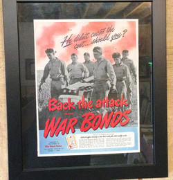 War Promo Ads and Collectables