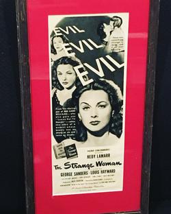 Vintage Film advertising