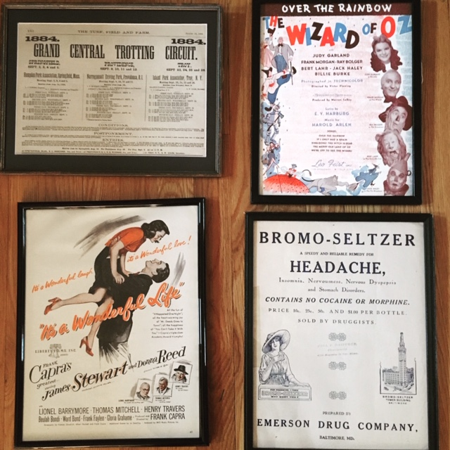 Authentic Framed Ephemera