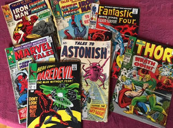 1960's Comics and trading cards