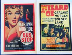 Vintage Movie Artwork