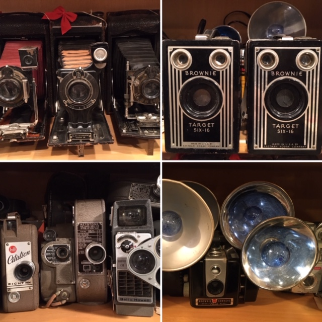 Antique and Vintage Cameras galore!