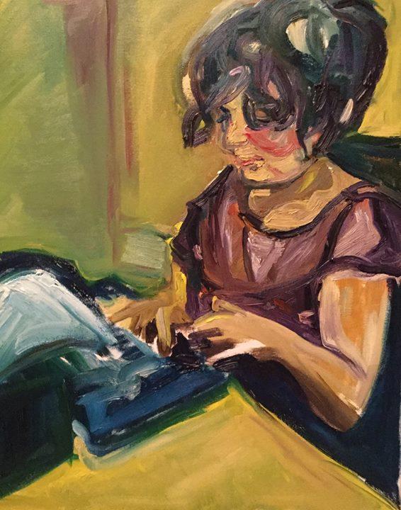 Thea's Typewriter.