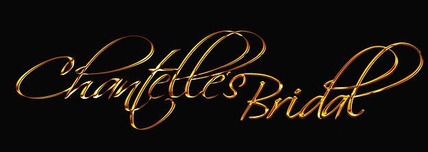 Final01  Chantelle and Bridal  Logo Word