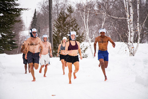 Fun outside in Canada