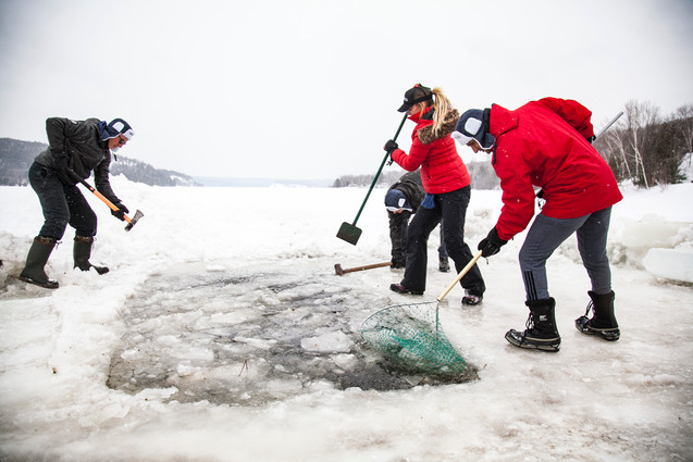 Opening the Ice in Canada
