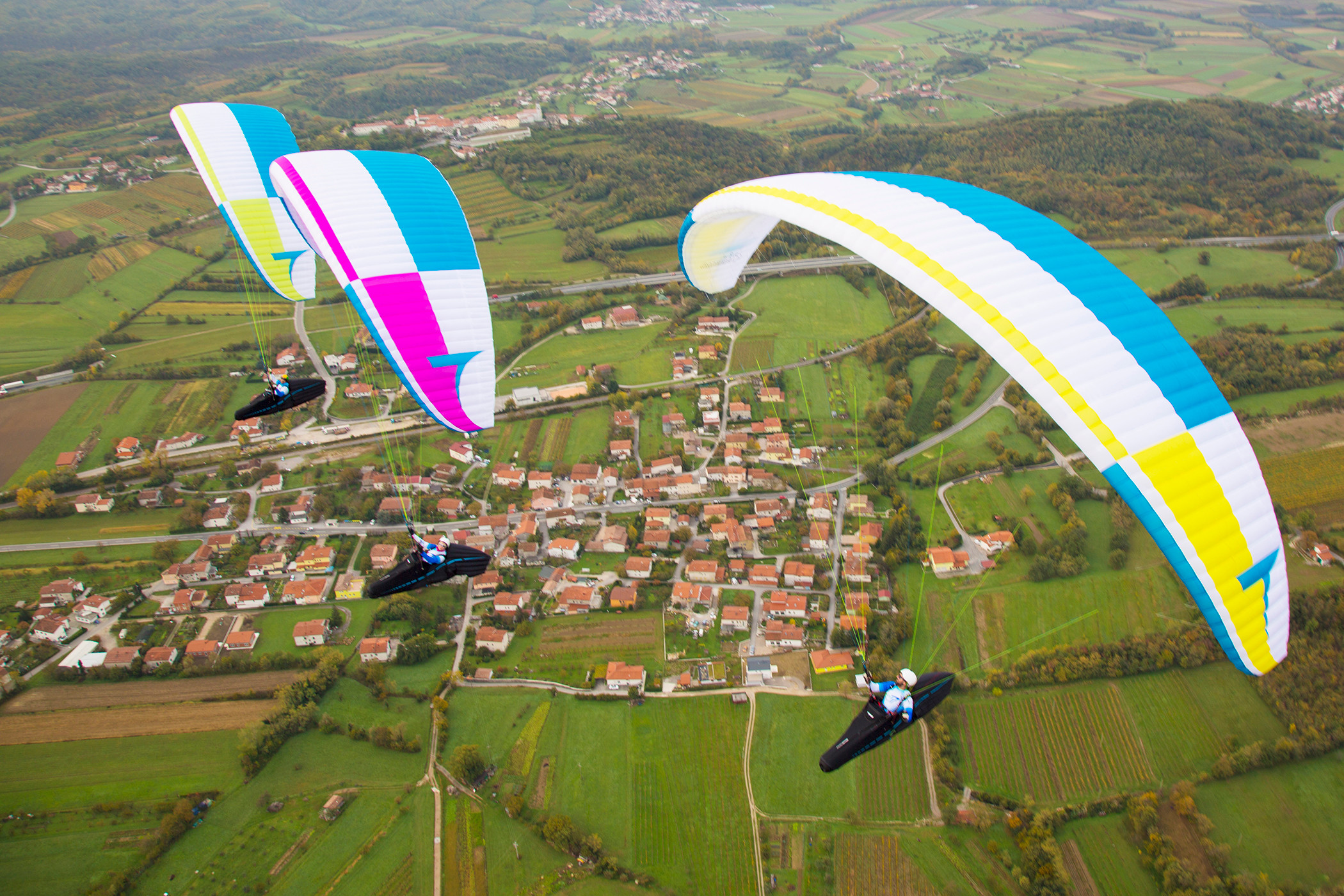 Paragliding Guide and Tour