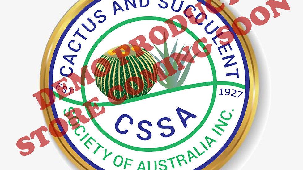 CSSA Badge/Pin (25mm)