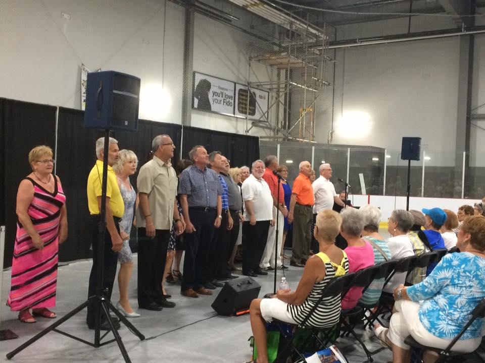 cabaret singers preform at the 50+
