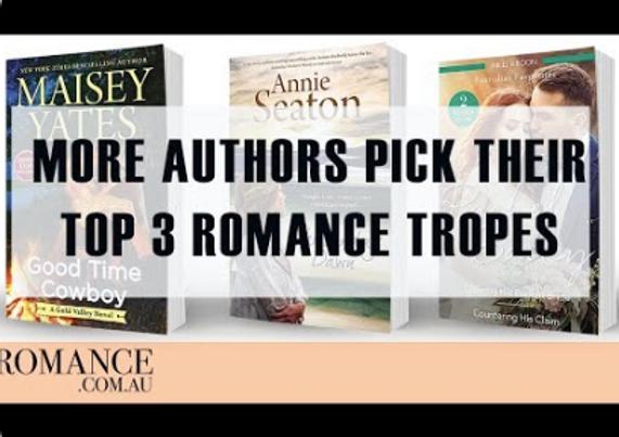 Romance Authors Favourite Tropes