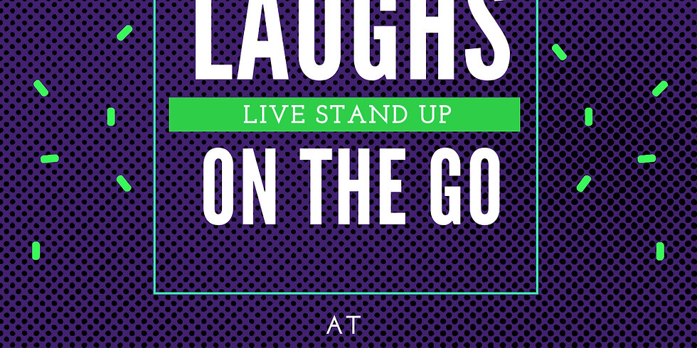 Laughs on the Go at Artisan; A Live Stand Up Comedy Event