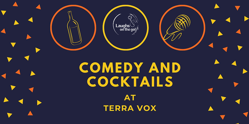 Comedy Uncorked at TerraVox