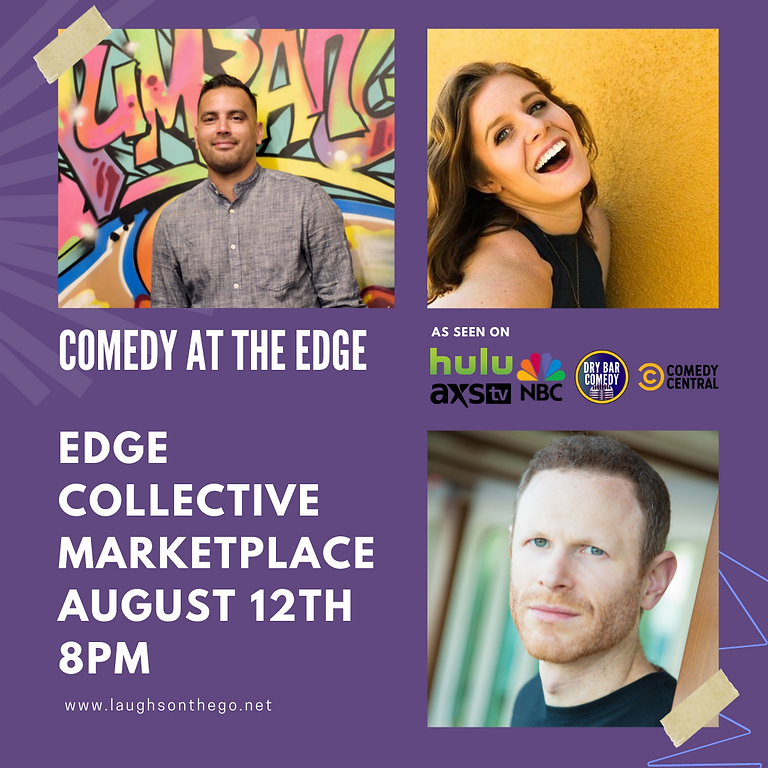 Comedy at the Edge! A Live Stand Up Event in the Heart of St. Pete!