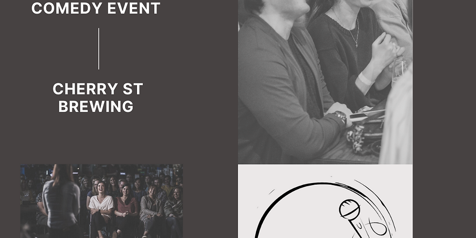 Laughs on the Go at Cherry St Brewing; A Live Stand Up Comedy Event