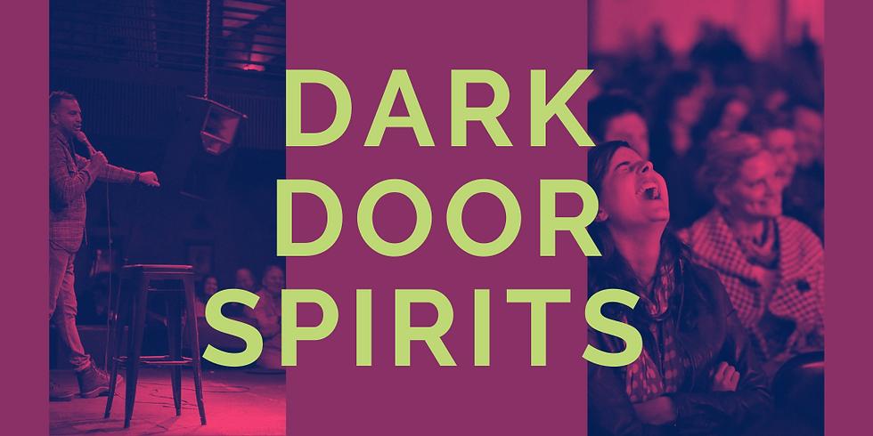 Comedy and Cocktails at Dark Door Spirits