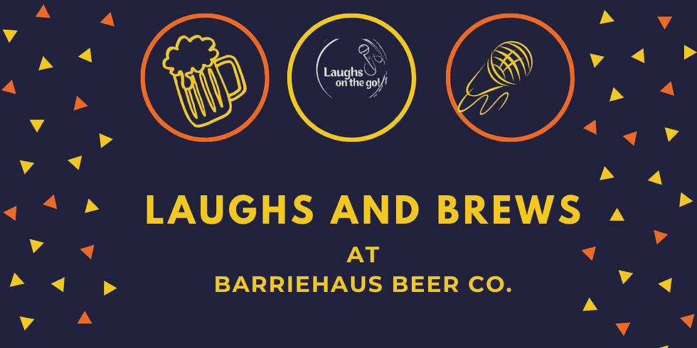 Laughs on the Go: An Evening of Touring Comedy at BarrieHaus Beer Co.