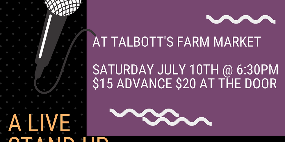 Laughs on the Go at Talbott's Farm Market and Taproom