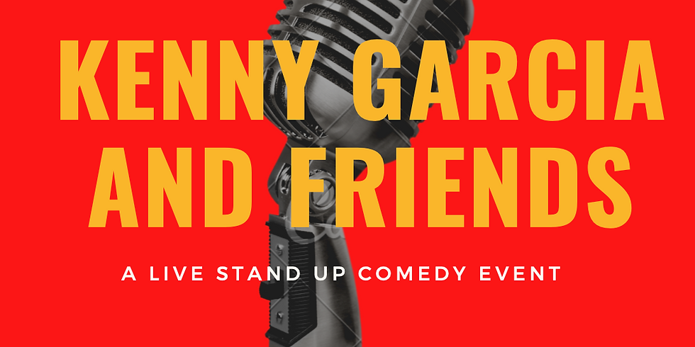 Kenny Garcia and Friends: A Live Stand-Up Comedy Event at Blackadder