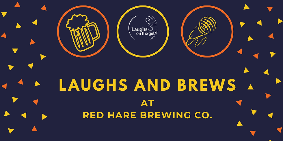 Laughs and Brews at Red Hare Brewing and Distilling