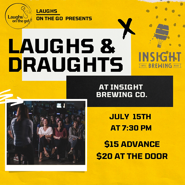 Laughs and Draughts - An Evening of Stand Up Comedy at Insight Brewing