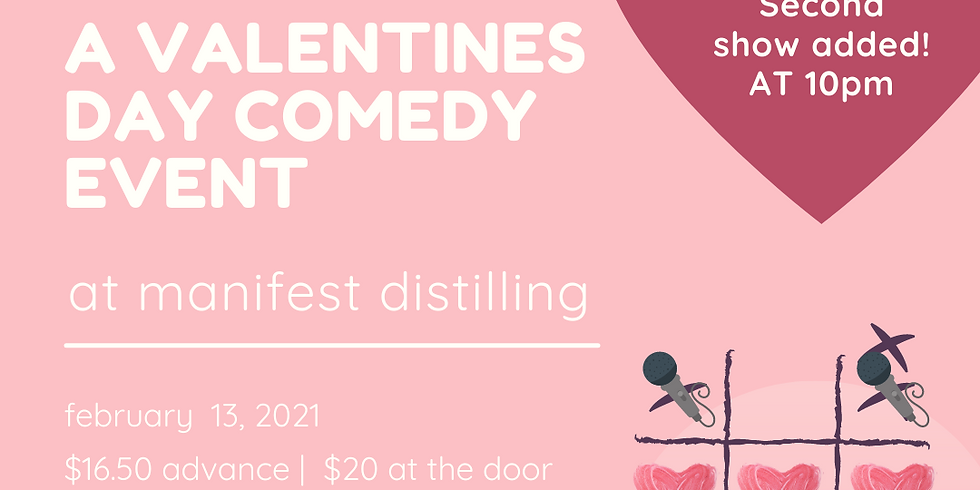 Sweet & Sour: A Valentine's Day Comedy Event at Manifest Distilling