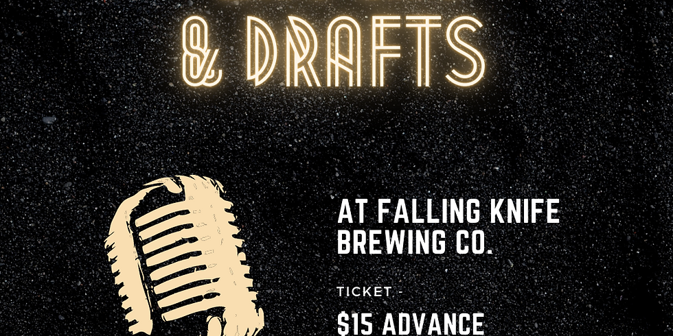 Laughs and Draughts at Falling Knife Brewing Co.