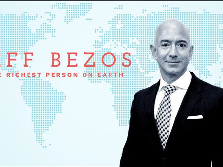 How did Jeff Bezos become the richest person in the world. Case study of Jeff Bezos.