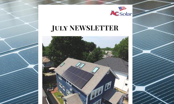 AC Solar Summer Newsletter