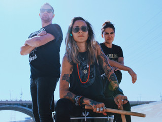 "Female fronted rock trio Tarah Who? delivers brutal artistry in ""Numb Killer"" music video"