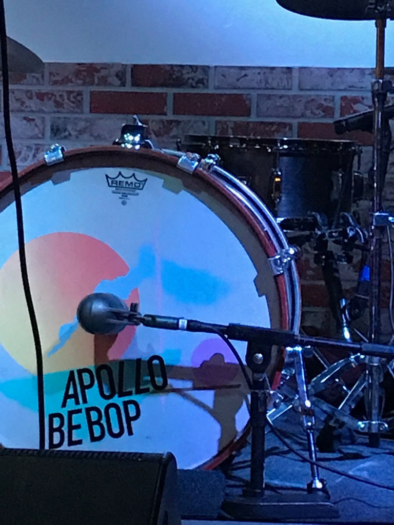 Apollo Bebop's cool drum kit!