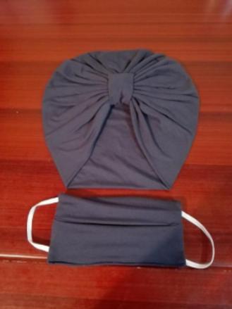Turbantes de protección con tapa bocas
