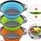 Thumbnail: Colador Plegable Redondo para Cocina