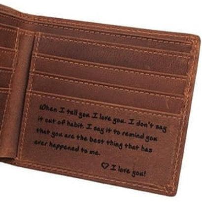 Billeteras personalizadas