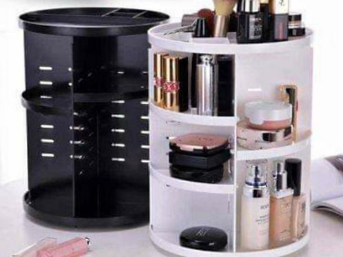 Organizador de cosméticos giratorio