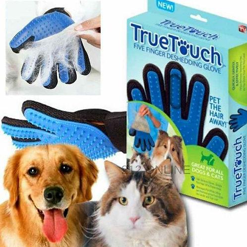 Guantes para peinado de mascotas