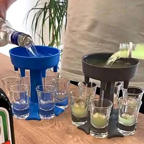 Dispensador de licor en shots