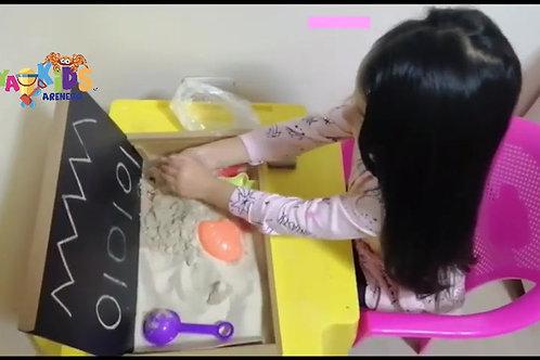 Arenero y Caja sensorial