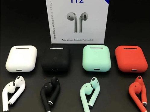 Audífonos Inalámbricos I12  control táctil