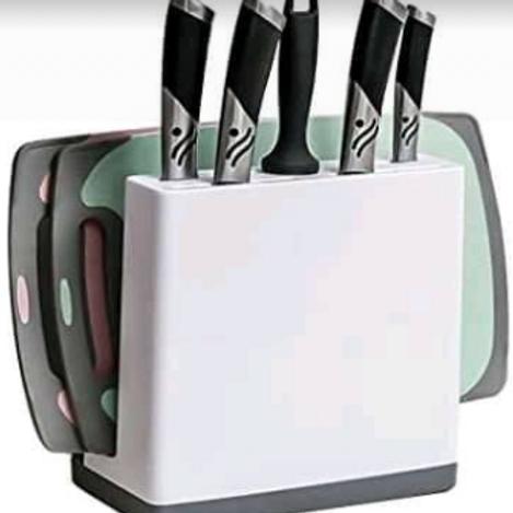 Organizador de cuchillos y de tabla de picar
