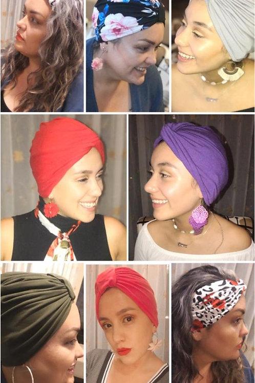 Turbantes para cabello