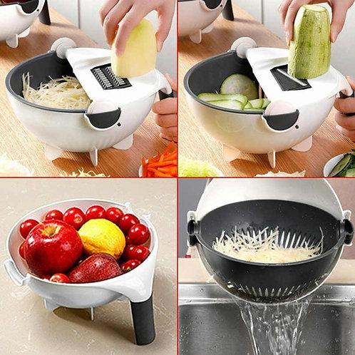Rallador, cesta para verduras