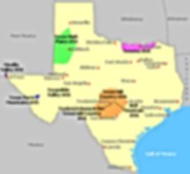Texas wine growing regions