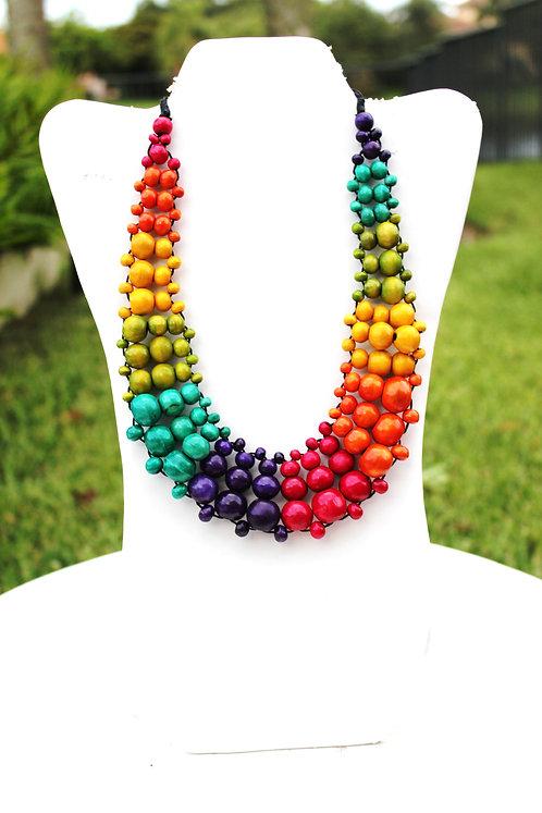 Aurora Bead Necklace Set