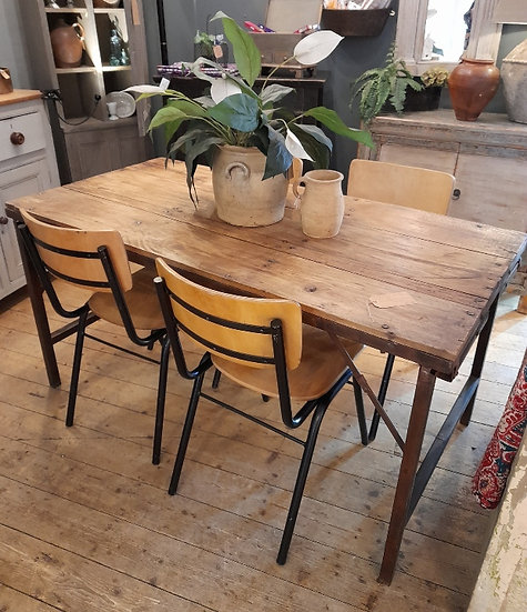 Industrial Reclaimed Table