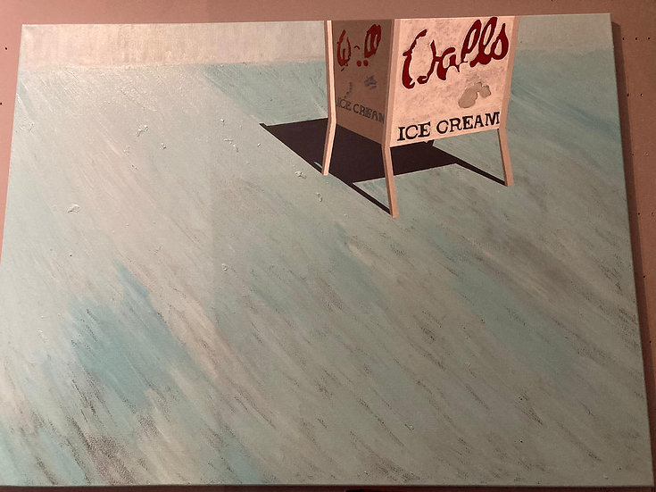 The Lido - Original Acrylic Painting