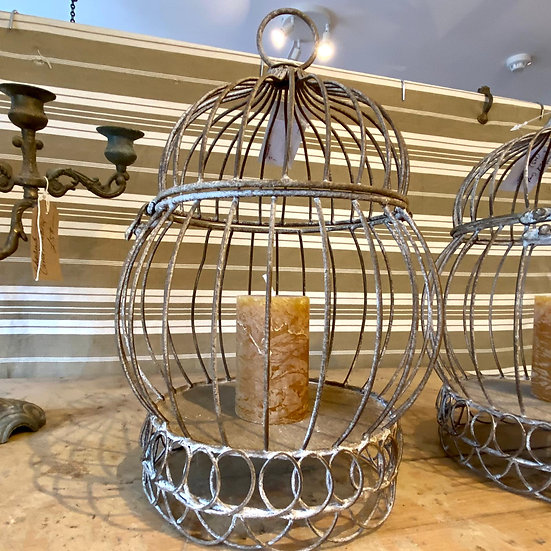 Vintage Style Cage/Candle Holder