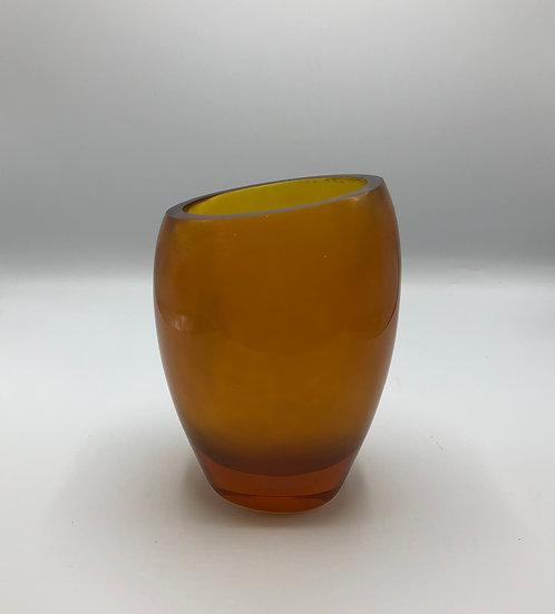 Lucite Vase